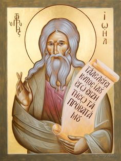 """Prophet Joel"" by ikonographics 