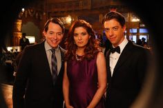 Matthew Broderick, Debra Messing and Christian Borle | #Smash