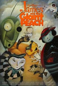 James and the Giant Peach (1996) movie #poster, #tshirt, #mousepad, #movieposters2