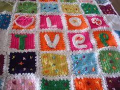 Crochet blanket Astra project