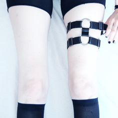 """Jenny Mustard styling TEALE COCO """"UFO"""" thigh garter now up on WWW.TEALECOCO.COM"""