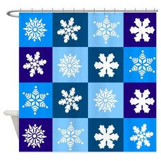 Shop unique Shower Curtains from CafePress. Great designs on professionally printed shower curtains. Holiday Shower Curtains, Snowflake Pattern, Special Day, Snowflakes, Holiday Decor, Design, Home Decor, Decoration Home, Snow Flakes