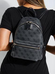 c82a35fc0abc Leeza Small Backpack at Guess
