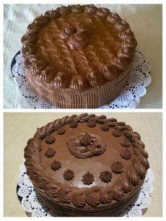 A legcsokisabb csokitorta, jó sok krémmel! Képtelenség ellenállni ennek a finomságnak! - Egyszerű Gyors Receptek Chocolate Bouquet, Cakes And More, Tiramisu, Tart, Food And Drink, Birthday Cake, Pie, Cookies, Ethnic Recipes