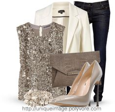 """Evening Glam"" by uniqueimage ❤ liked on Polyvore"