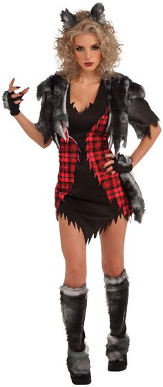 She Wolf Costume, Sexy Werewolf Costume - Halloween Costumes at Escapade™ UK - Escapade Fancy Dress on Twitter: @Escapade_UK