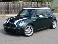 british racing green mini. Started my obsession ;)