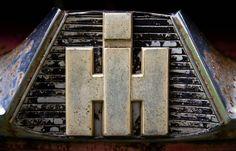 Old International truck emblem