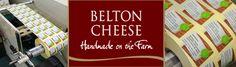 Etiquette Labels Ltd Belton Farm Cheese printed label - Sainsbury's produce