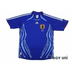 Photo1: Japan 2006 Home Shirt adidas - Football Shirts,Soccer Jerseys,Vintage Classic Retro - Online Store From Footuni Japan