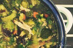 Zupa tajska z zielonąpastą curry - dziś rozgrzewamy zarówno ciało jak i umysł :) #zupatajska #zielonapastacurry #zupa