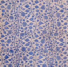 Gertrude Jekyll arts and crafts movement | Wallpaper Design Art Print by Gertrude Jekyll at King & McGaw