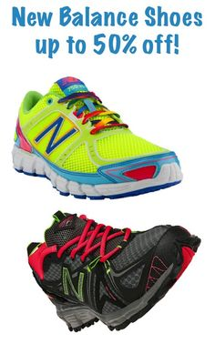 New Balance Shoes ~ up to 50% off!!  #shoes