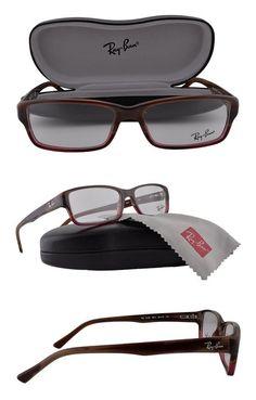 136c550c0962b  89.99 - Ray Ban RX5169 Eyeglasses 52-16-140 Brown Horn Gradient  Transparent Bordeaux 5541 RB5169  rayban. Ray-Ban · Prescription Eyewear  Frames