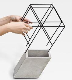 DESIGN-OBJETOS | 관람차 같기도하고 저 콘크리트랑 검은선의 조합이 예뻤다 저거를 조명으로 쓴다면?