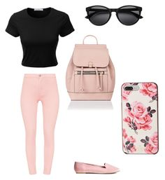 """""""spring🌟🔥"""" by brigike-toth on Polyvore featuring LE3NO, Kate Spade and Accessorize"""