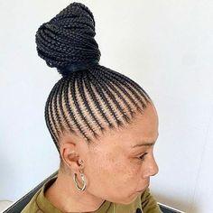 Latest Braided Hairstyles, African Braids Hairstyles, Latest Ghana Weaving Styles, Types Of Braids, Cornrows, Braid Styles, Box Braids, Fashion Pictures, Black Hair