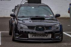 Subaru Impreza WRX STI #hawkeye #black