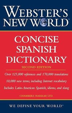 Webster's New World Concise Spanish Dictionary by Chambers Harrap Publishers
