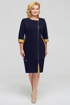 This almost looks like a uniform. Simple Dresses, Elegant Dresses, Pretty Dresses, Suits For Women, Clothes For Women, Mom Dress, Plus Size Women, Dress Patterns, African Fashion