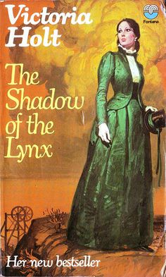 The Shadow of the Lynx by Victoria Holt. Fontana 1974. Vintage Gothic Romance