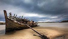 Cara na Mara Shipwreck, An Bun Beag (Ireland)