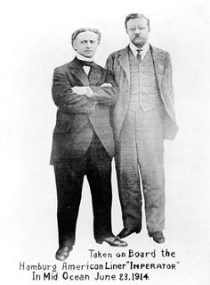 Harry Houdini and Theodore Roosevelt