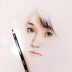 "@toolkit04's photo: ""Sketch / Oshima Yuko """