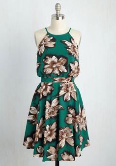 That's My Jam Dress in Basil
