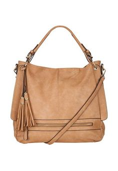 crossbody satchel with two tassels (original price, $59) available at #Maurices