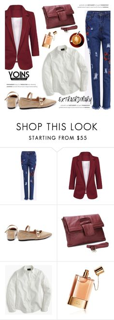 """""""Yoins"""" by helenevlacho ❤ liked on Polyvore featuring J.Crew, Chloé, yoins, yoinscollection and loveyoins"""