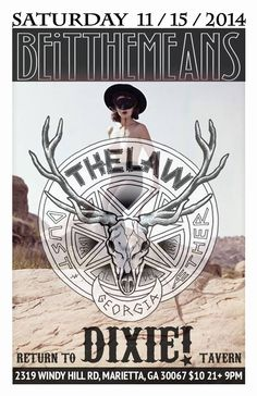 The Law Band with Beitthemeans at Dixie Tavern in Marietta GA - Saturday November 15, 2014