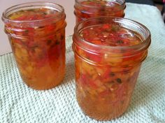 Canning Homemade!: Canning Relish - Apricot Red Pepper Relish