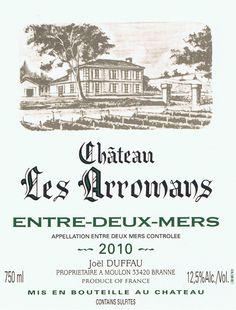 Château les Arromans Entre-Deux-Mers (2010), Another Great Easter Wine.