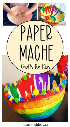 If you are looking for easy crafts for kids, paper mache is inexpensive, a great sensory experience and simple for even younger children. Create something out of paper mache today! #papermache #easycraftsforkids