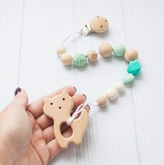 Baby Care Diligent Lets Make Baby Teething Beech Wooden Teether Baby Toys Phone Food Grade 1pc Customizable Unique Montessori Baby Teethers Baby Teethers