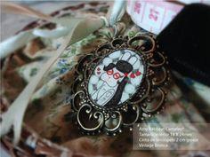 Camafeo de Rabbëats by la chica conejo* por DaWanda.com