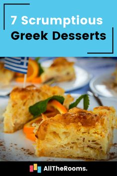 Greek Desserts Uk Bucket List, Top Places To Travel, Greek Desserts, Food Inspiration, Travel Inspiration, Good Food, Food Travel, Travel Tips, Ethnic Recipes