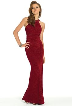 Glitter Halter Dress from Camille La Vie and Group USA