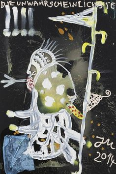jonathan meese drawings - Google Search