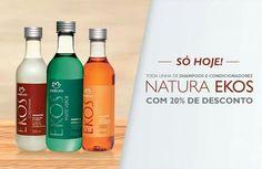 [SÓ HOJE - 25/08] Toda a Linha de Shampoos e Condicionadores Natura Ekos com 20%…