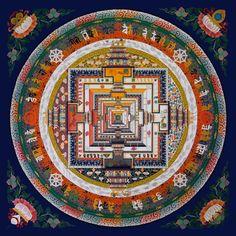 """Képtalálat a következőre: """"tibetan mandala"""" Tibetan Mandala, Tibetan Art, Tibetan Buddhism, Buddhist Art, Tantra, Pentacle, Mandala Design, Mandala Art, Buddha"""