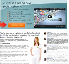Zurker is the only social network owned by its members. Not only do you own your content on Zurker, you own part of the actual social network itself! Members get vShares (a stake of ownership, or equity) in Zurker for referring their friends (without which a social network doesn't function anyway). As more and more people use Zurker and the project grows, your stake in Zurker becomes more valuable. Check http://nipurl.com for your free invite