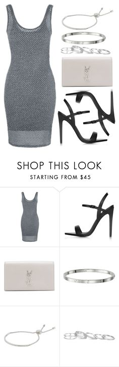 """""""Sin título #12367"""" by vany-alvarado ❤ liked on Polyvore featuring Topshop, Yves Saint Laurent, Michael Kors and Kendra Scott"""