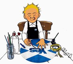Oor Wullie's got it right Celtic Nations, Celtic Fc, Best Of Scotland, Scottish Independence, Classic Mini, Edinburgh, Childhood Memories, Comic Art, Photo Art