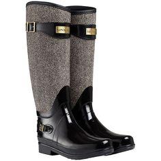 Hunter Regent Apsley Wellington Boots, Black