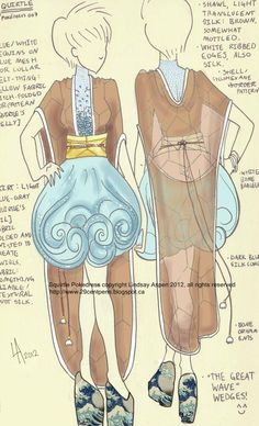 Pokemon Inspired High Fashion Designs - Squirtle