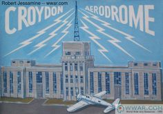 croydon airport art - Google Search