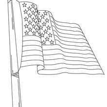 printable american flag coloring page  free american flag