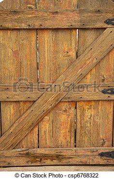 Banco de imagem - madeira, pretas, dobradiças, antigas, portão - banco de imagens, fotos royalty free, banco de imagens, estoque fotográfico, fotos, gráfico, gráficos